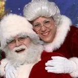 Santa White Christmas