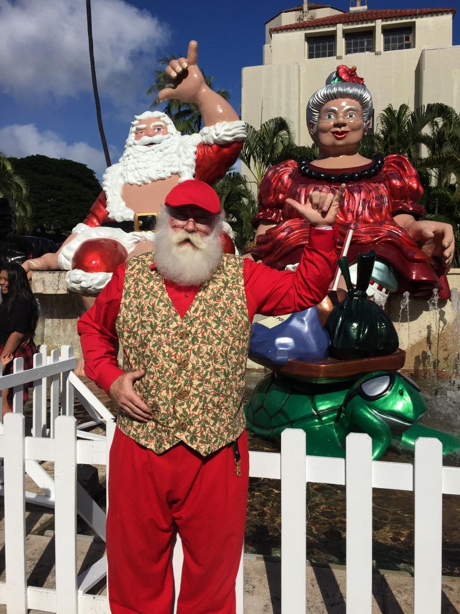 A Bright Hawaiian Christmas Day!