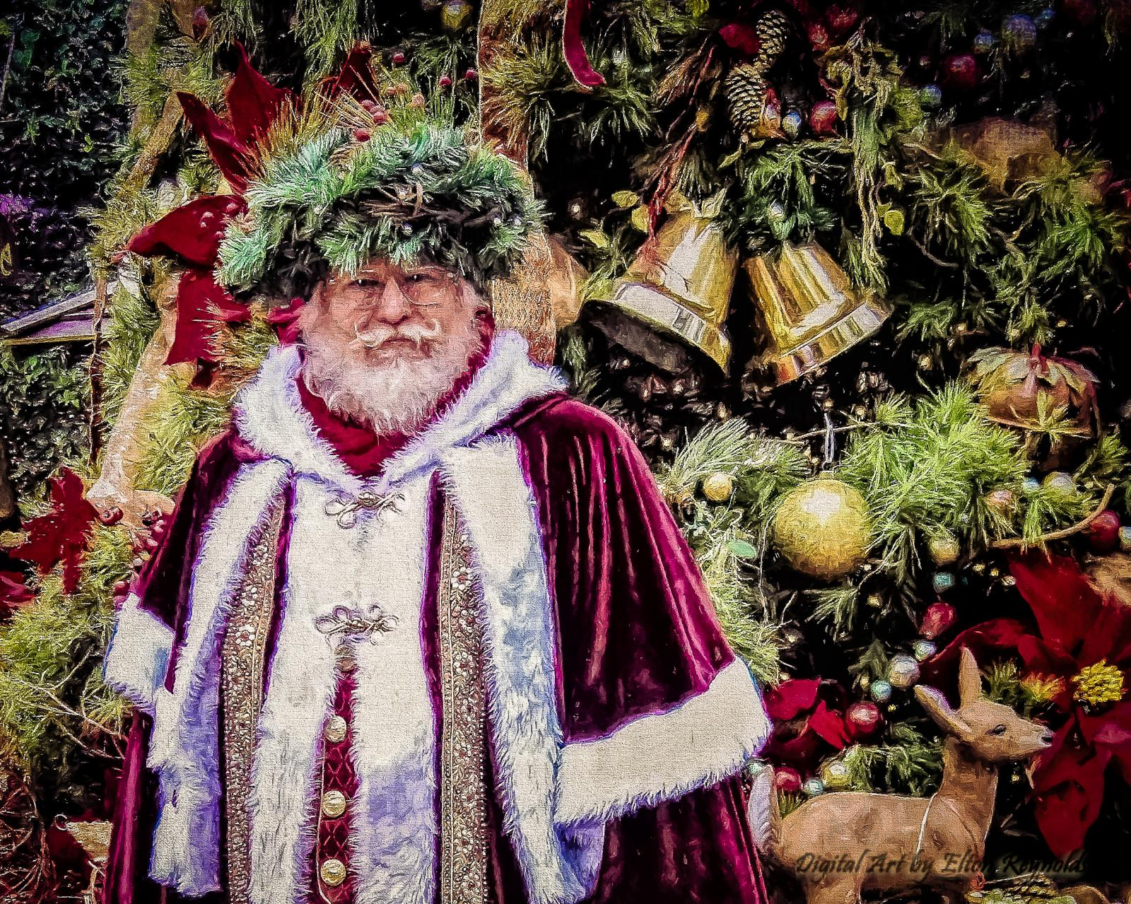 Father Christmas at the Texas RenFest 2015