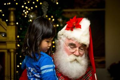 In some cases I am the first Western Santa many are exposed to.