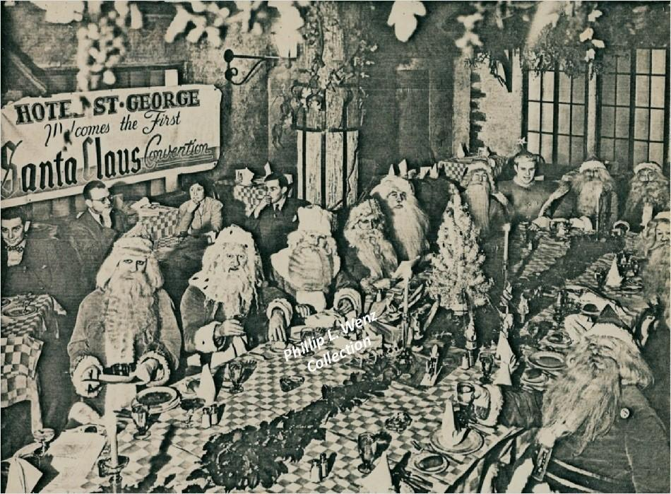 The First Santa Claus Convention