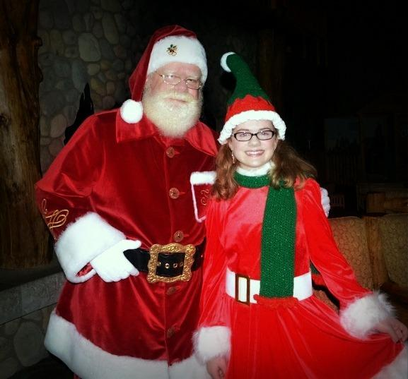 Santa Trever J. Waltos & Sarah Sugarplumb