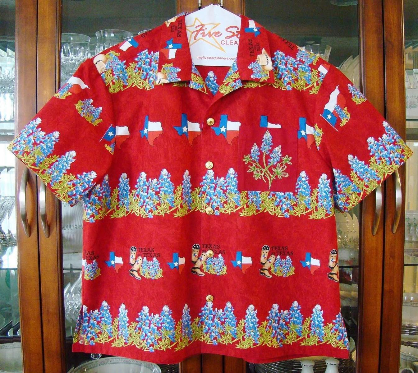 A TEXAS Twist on the Hawaiian Shirt