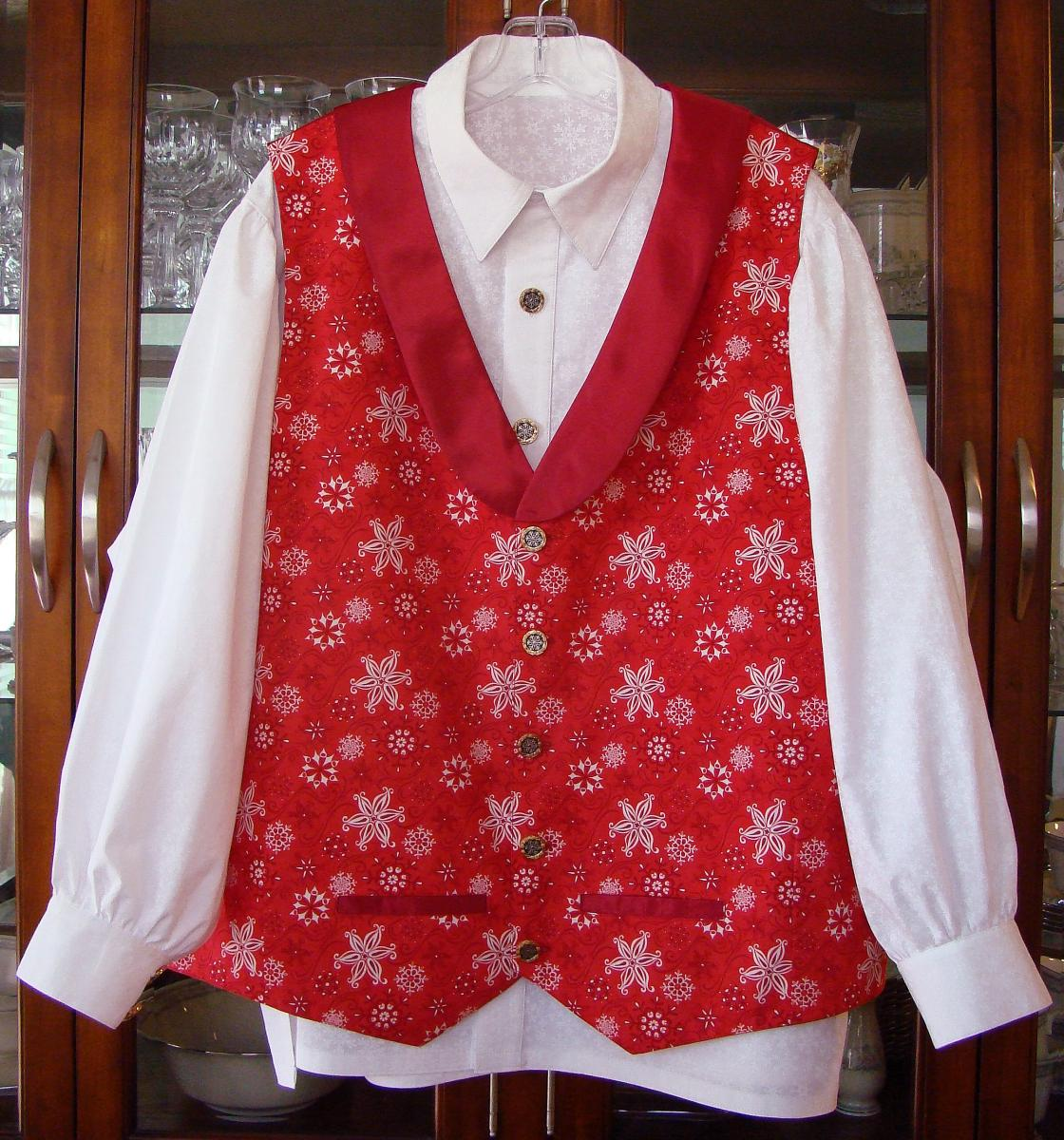 Western Vest & Snowflake shirt for LSS BobMcMasters