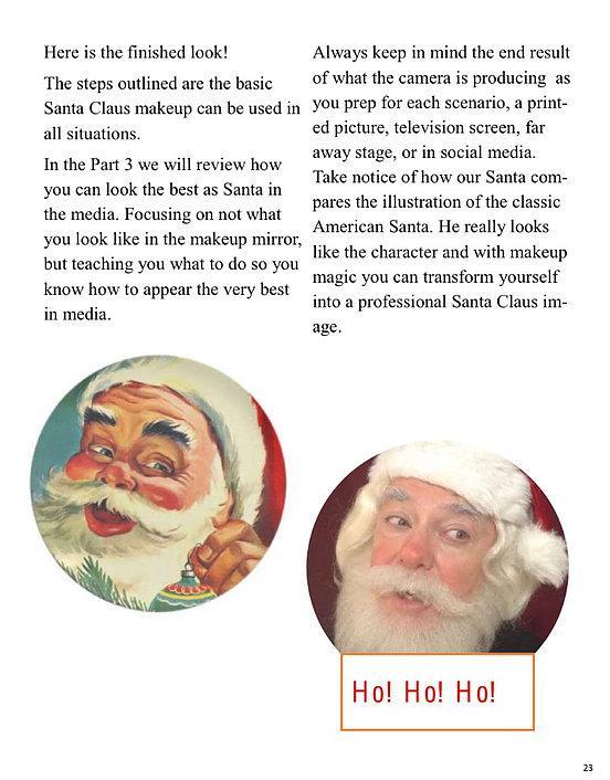 Santa Makeup Manual