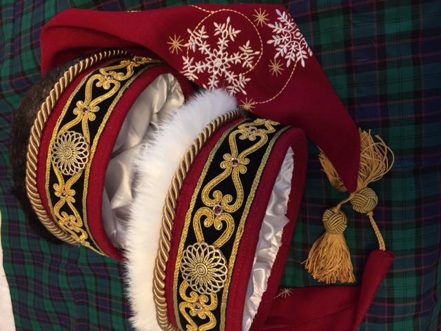 New Santa hats