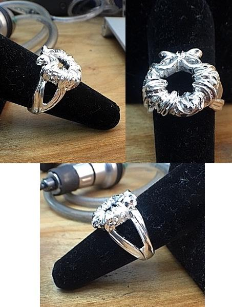 Silver Version of the Ladies Wreath Ring