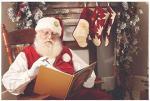 Santa Reading at Savannah Studio Shoot
