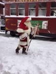 Train Santa