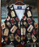 Christmas Tags Vest - Open