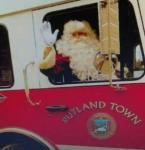 Kris Kringle Kevin as Rutland Town Santa