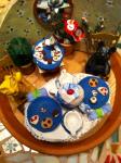 Poly Clay & Paper clay Mini Teaparty, Huntington, VT