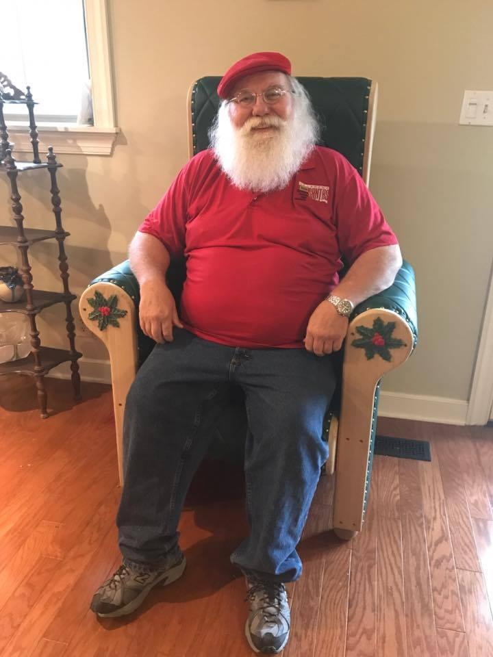 Me in Santa's Throne