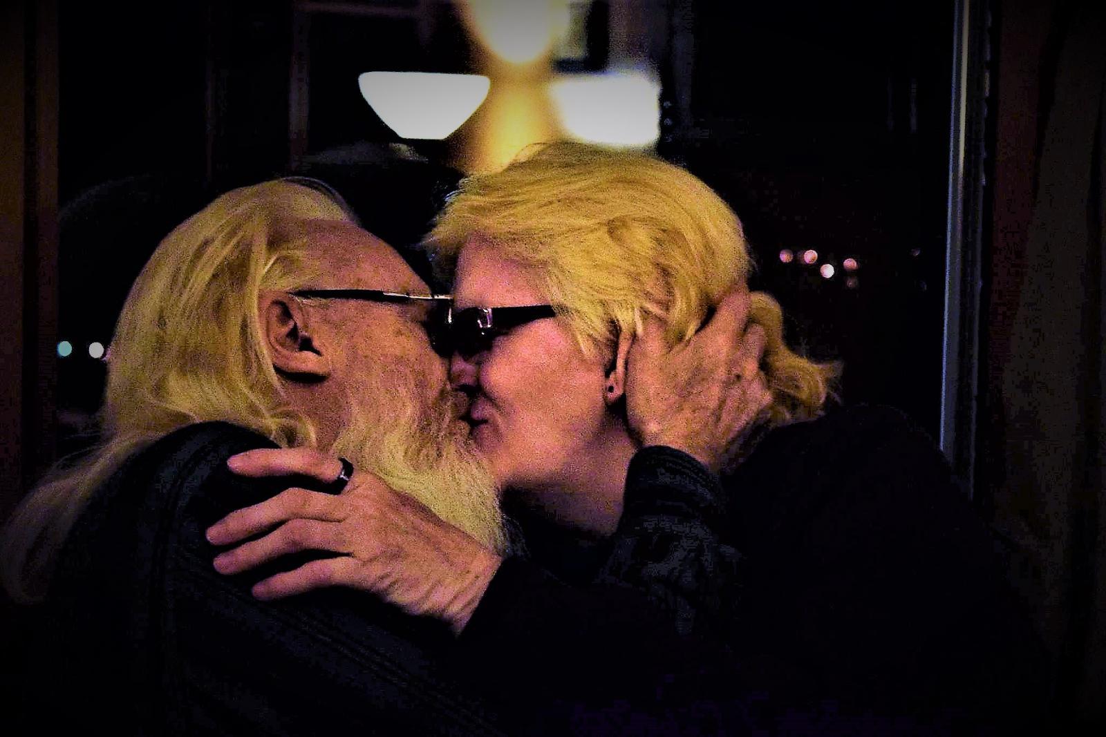 The Christmas Kiss Again Candid shot