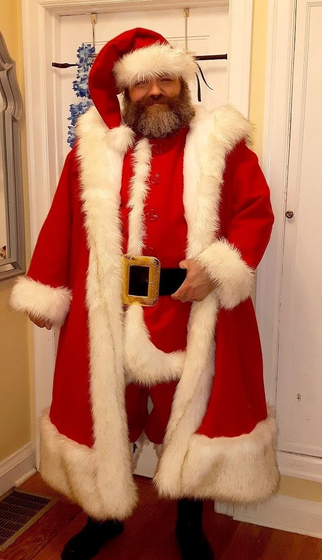 My new 2017 Santa Claus Suit.