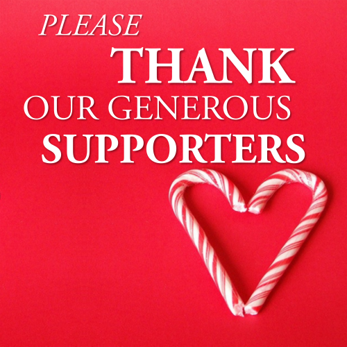 Please Thank Our Supporters!