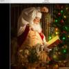 Santa in his Toy Shop
