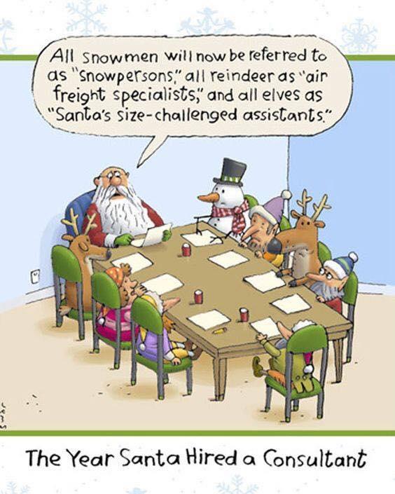 Santa Hires a Consultant
