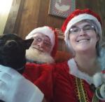Holly & Santa