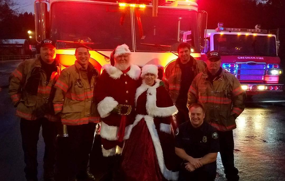 Santa's Firemen