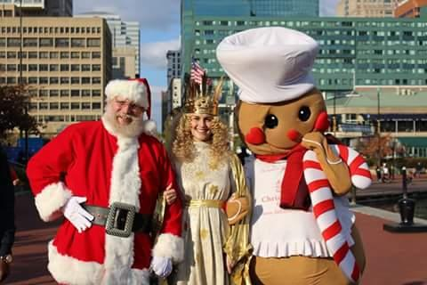 With Christkind and Gingy