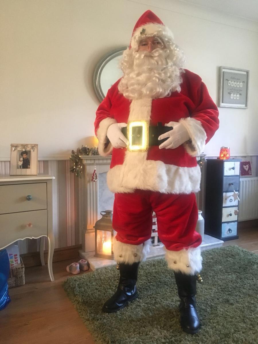 Santa Colin on House Call