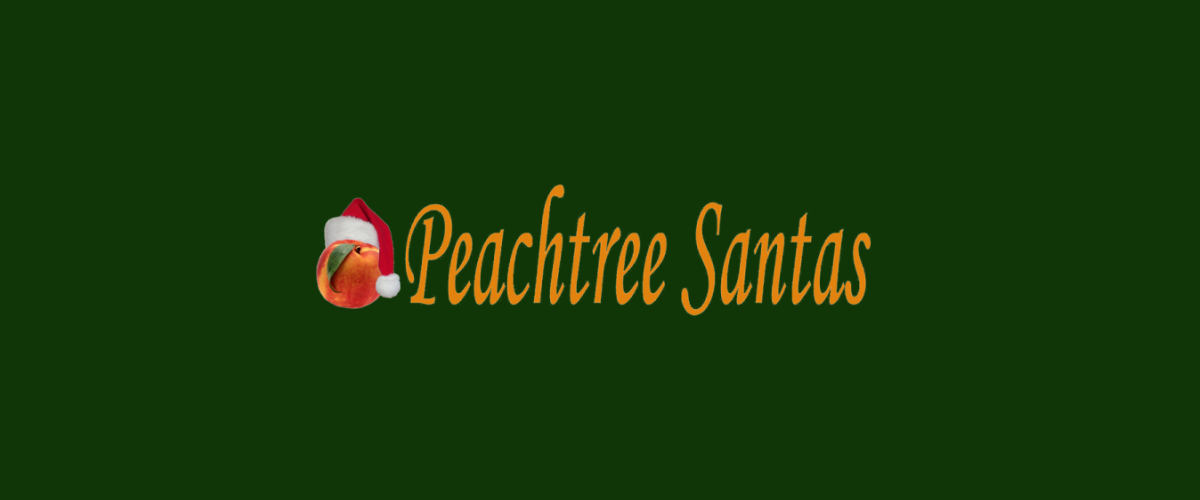 Peach Tree Santas