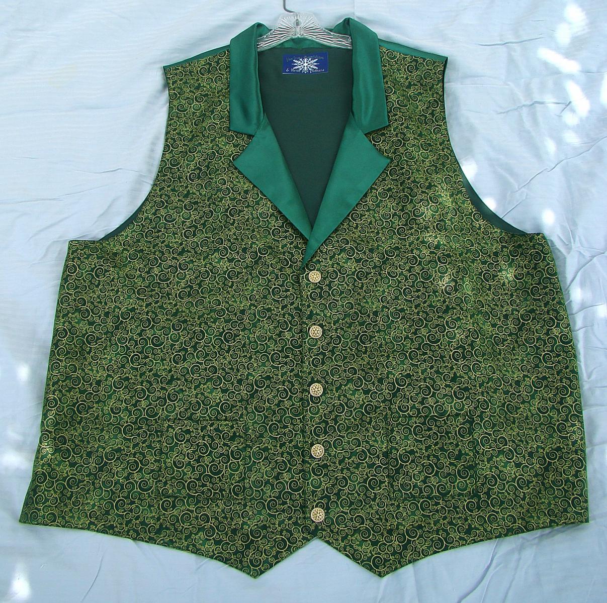 Wayne green:gold swirl vest.jpg