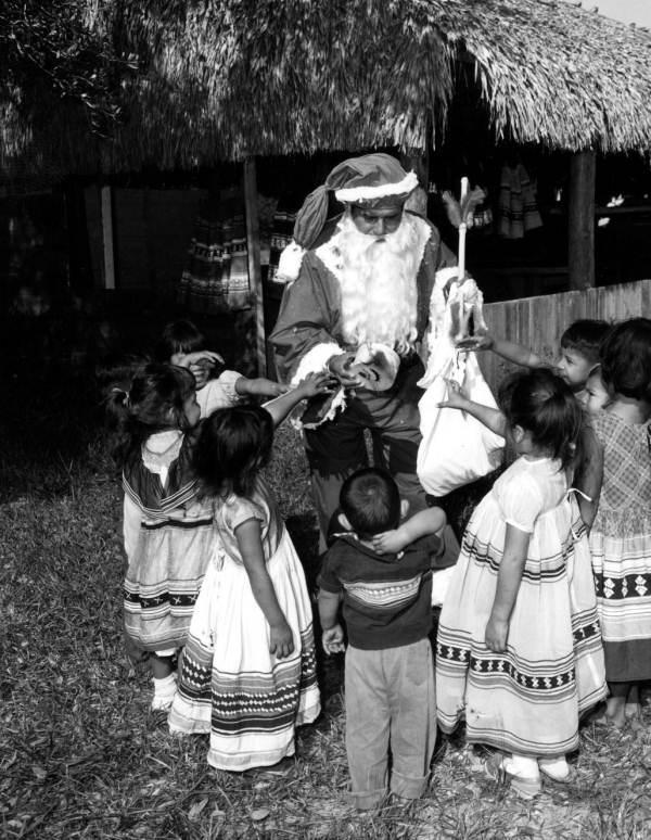 Seminole Chief Billy Osceola as Santa Claus.jpg