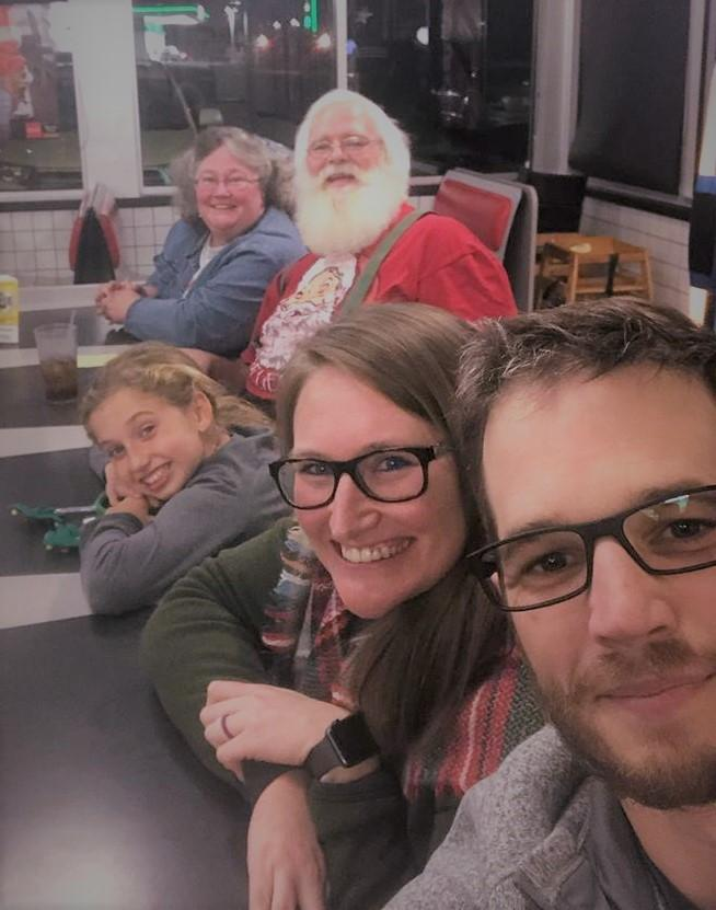 2018 Christmas Eve at Waffle House
