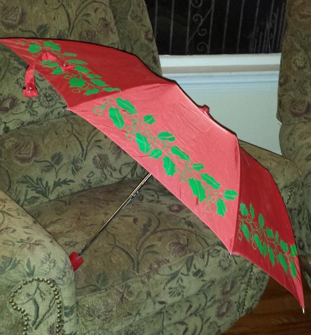 Christmas Umbrella-Bag Sized
