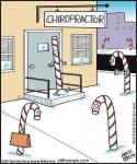 Santa Goes to the Chiropractor