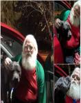 Santa and Jellybean
