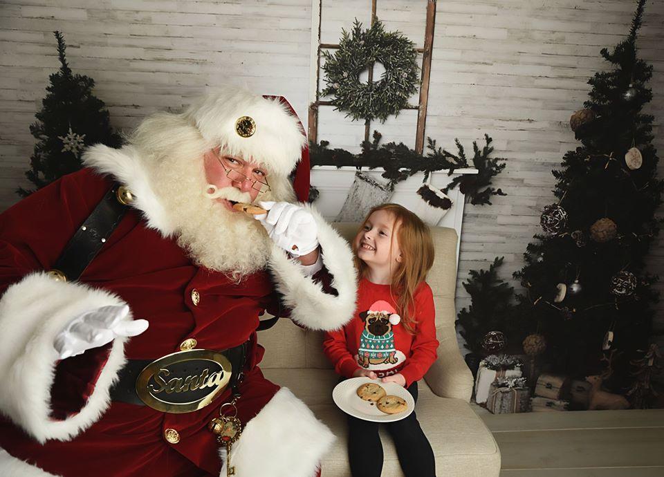 Santa and Annie Cookie.jpg